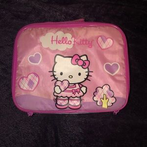 Gently used Hello Kitty insulated bag